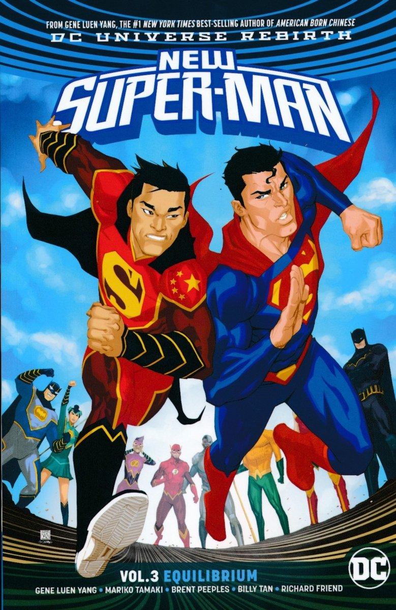 NEW SUPER-MAN VOL 03 EQUILIBRIUM SC (Oferta ekspozycyjna)