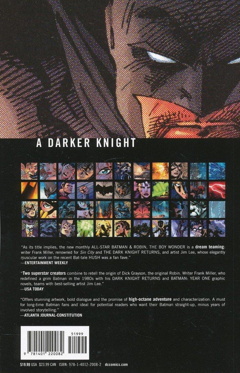 ALL-STAR BATMAN AND ROBIN THE BOY WONDER VOL 01 SC (Oferta ekspozycyjna)