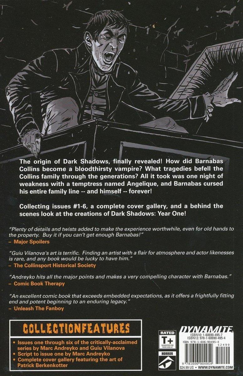 DARK SHADOWS YEAR ONE TP (Oferta ekspozycyjna)