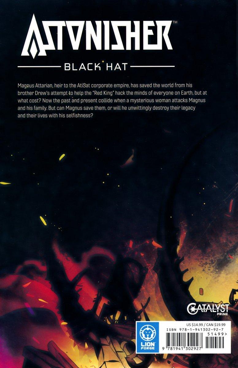 CATALYST PRIME ASTONISHER TP VOL 03 BLACK HAT (Oferta ekspozycyjna)