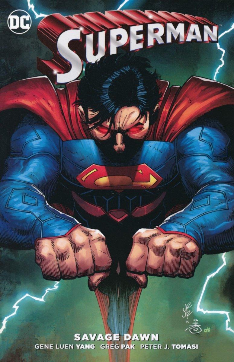 SUPERMAN SAVAGE DAWN SC (Oferta ekspozycyjna)