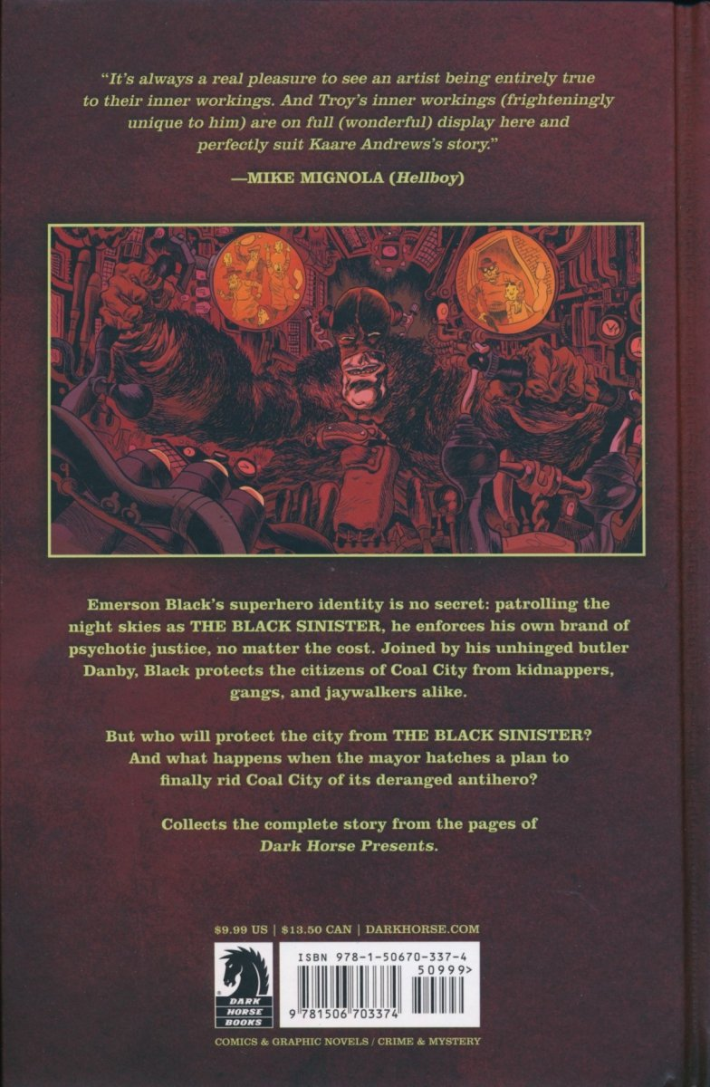 BLACK SINISTER HC