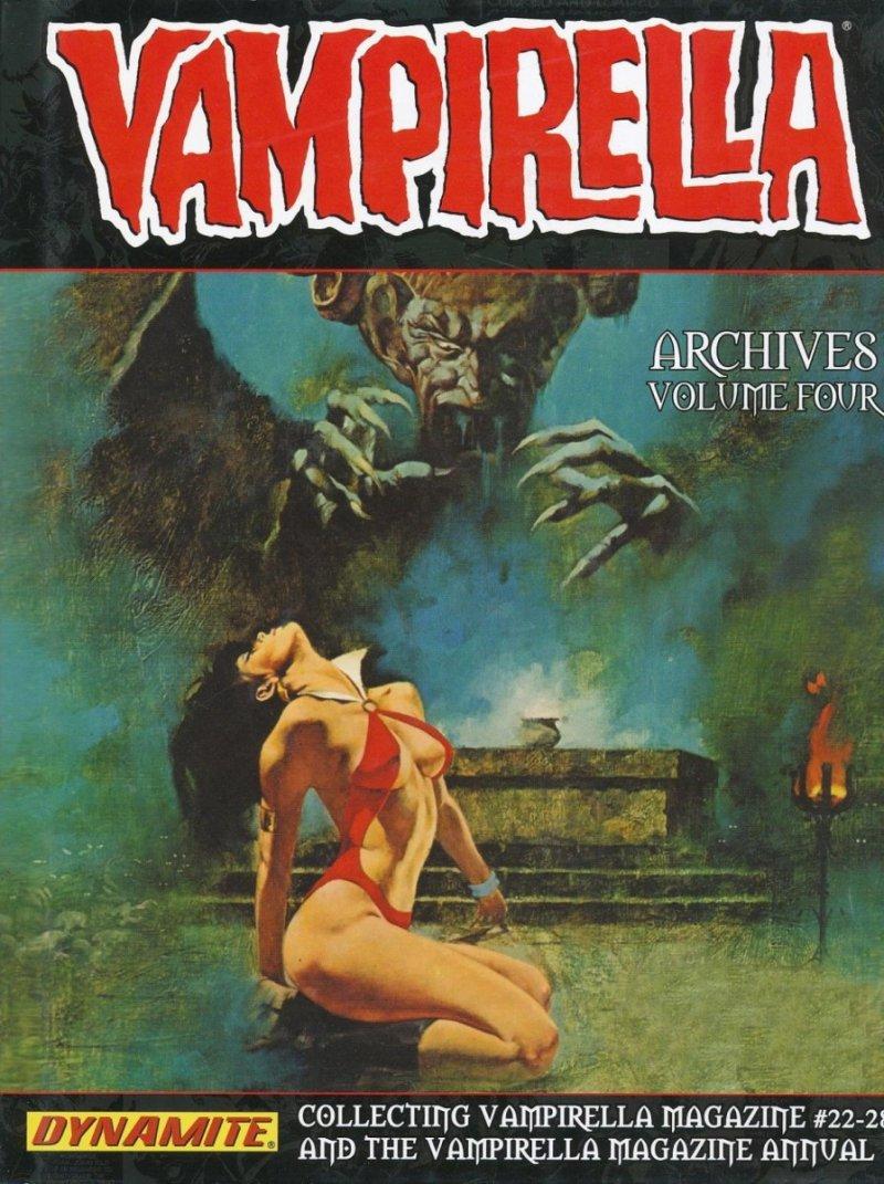 VAMPIRELLA ARCHIVES HC VOL 04 (Oferta ekspozycyjna)