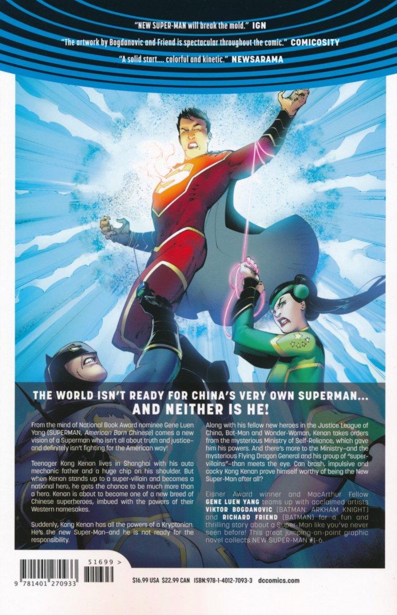 NEW SUPER-MAN VOL 01 MADE IN CHINA SC (Oferta ekspozycyjna)