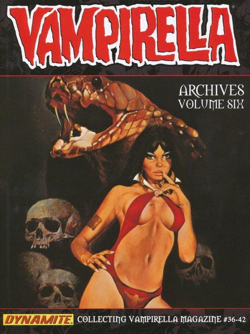 VAMPIRELLA ARCHIVES HC VOL 06