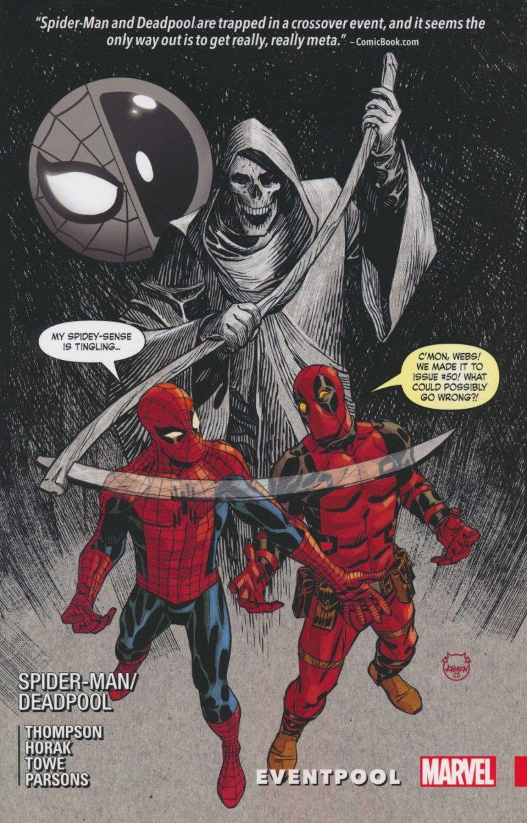 SPIDER-MAN DEADPOOL TP VOL 09 EVENTPOOL (Oferta ekspozycyjna)