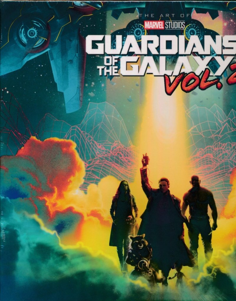 MARVELS GUARDIANS GALAXY ART OF MOVIE SLIPCASE HC VOL 02 (Oferta ekspozycyjna)