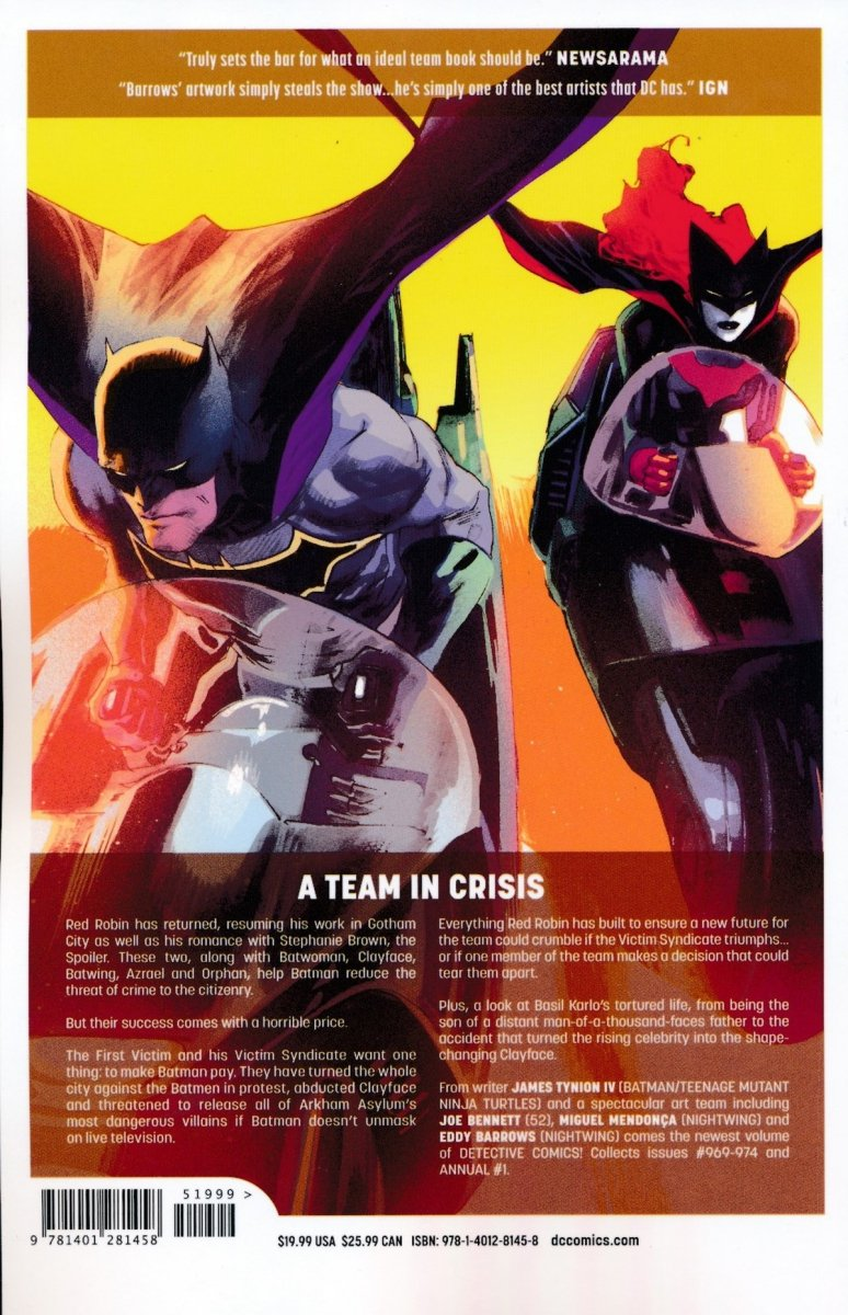 BATMAN DETECTIVE COMICS VOL 06 FALL OF THE BATMEN SC (Oferta ekspozycyjna)