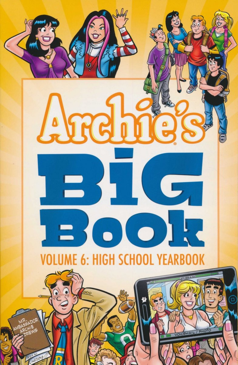 ARCHIES BIG BOOK TP VOL 06 HIGH SCHOOL YEARBOOK