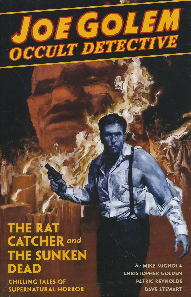 JOE GOLEM OCCULT DET HC VOL 01 RAT CATCHER & SUNKEN DEAD