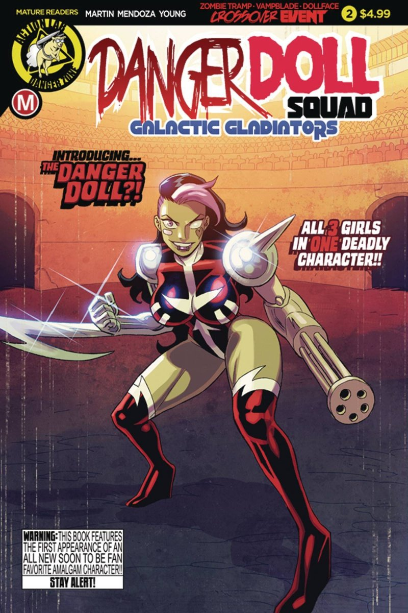 DANGER DOLL SQUAD GALACTIC GLADIATORS #2 CVR A YOUNG