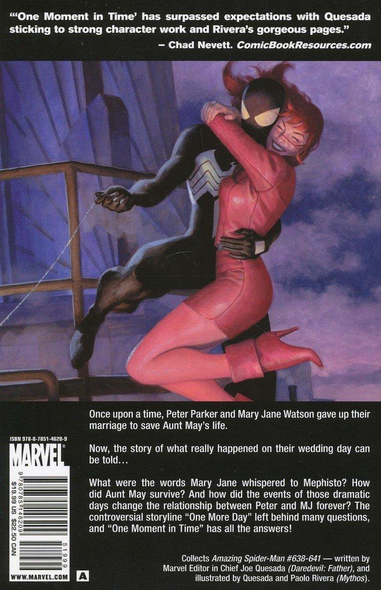 SPIDER-MAN ONE MOMENT IN TIME TP (Oferta ekspozycyjna)