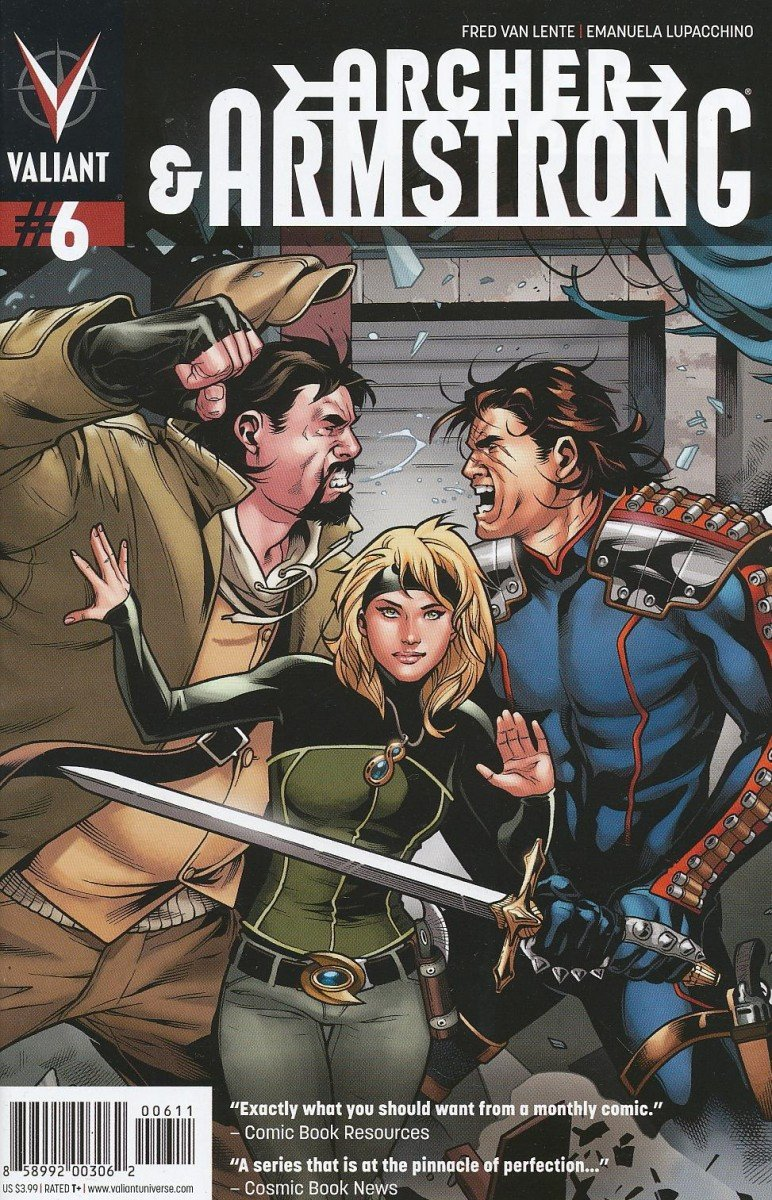 ARCHER AND ARMSTRONG #6 REG LUPACCHINO CVR