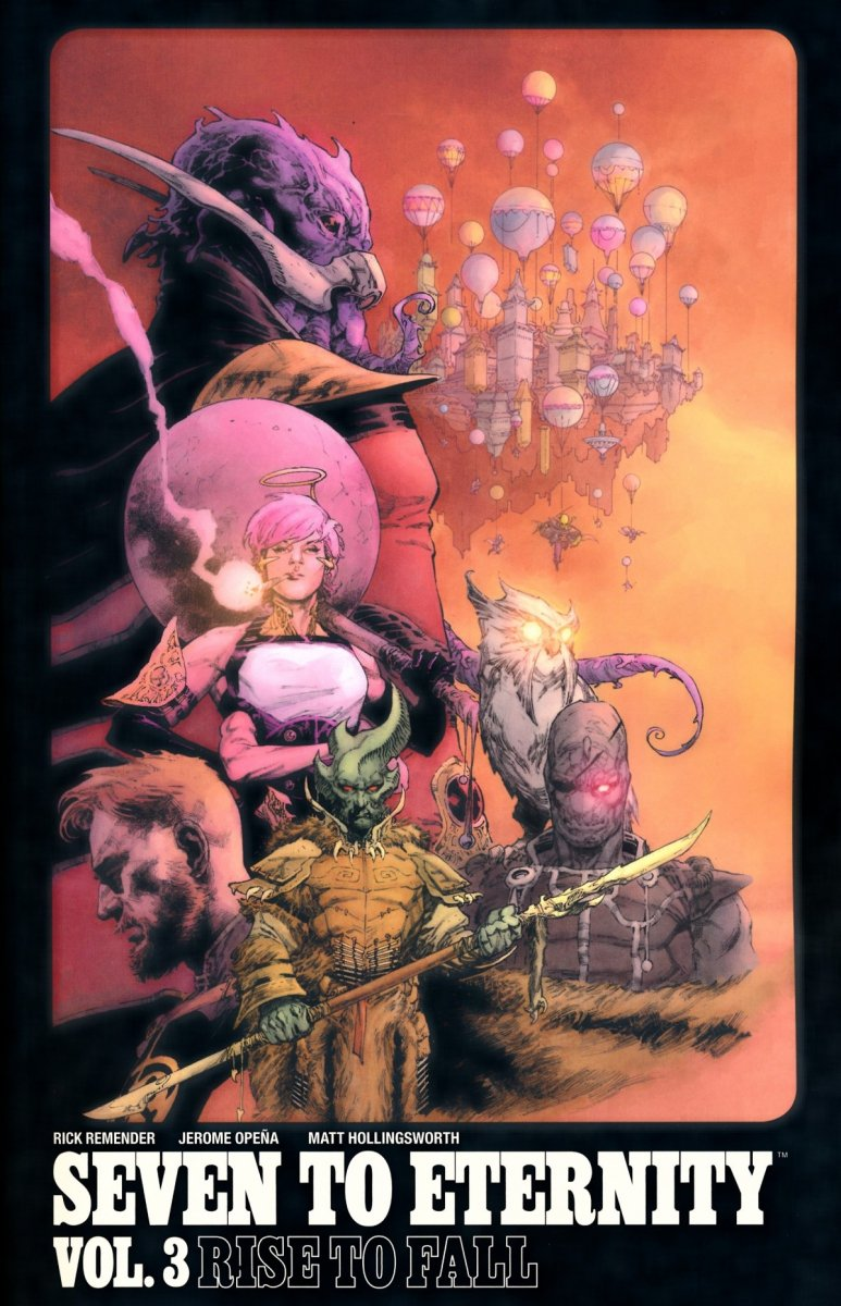 SEVEN TO ETERNITY VOL 03 RISE TO FALL SC