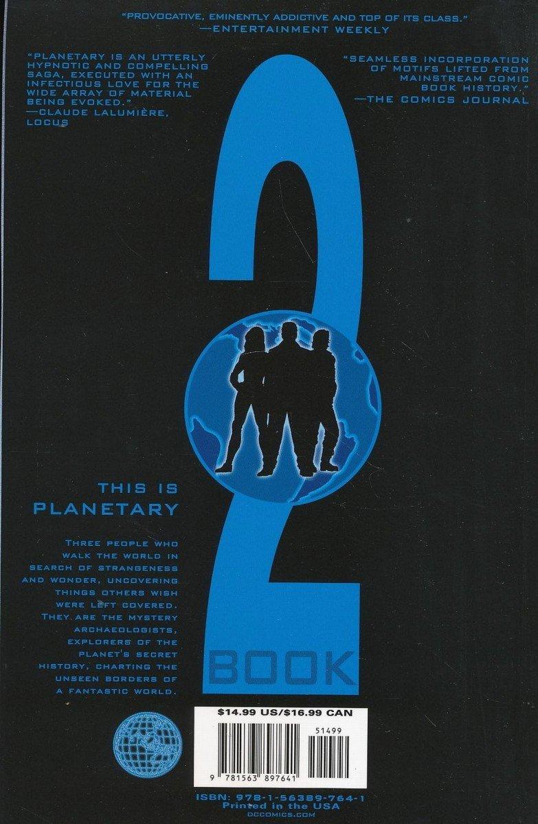 PLANETARY VOL 02 THE FOURTH MAN SC (Oferta ekspozycyjna)