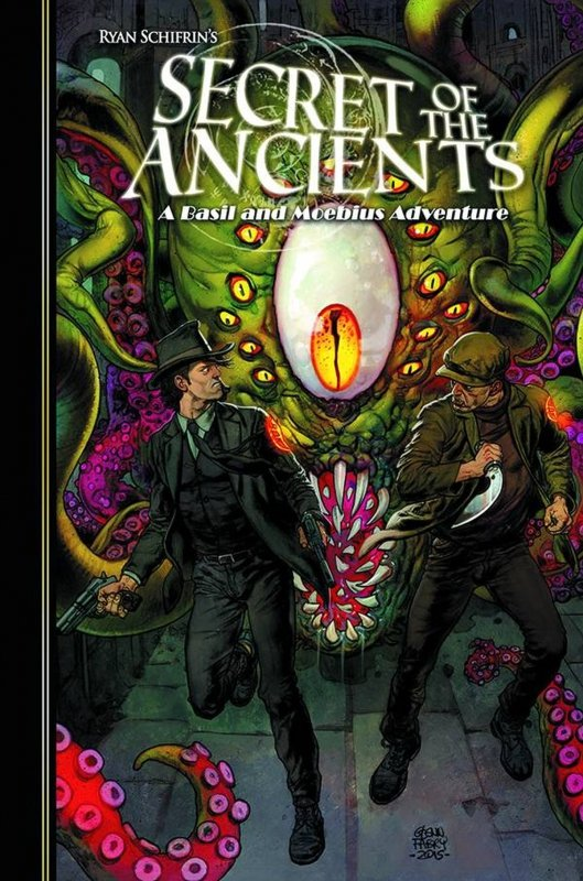 ADVENTURES OF BASIL AND MOEBIUS HC VOL 03 SECRETS O/T ANCIEN