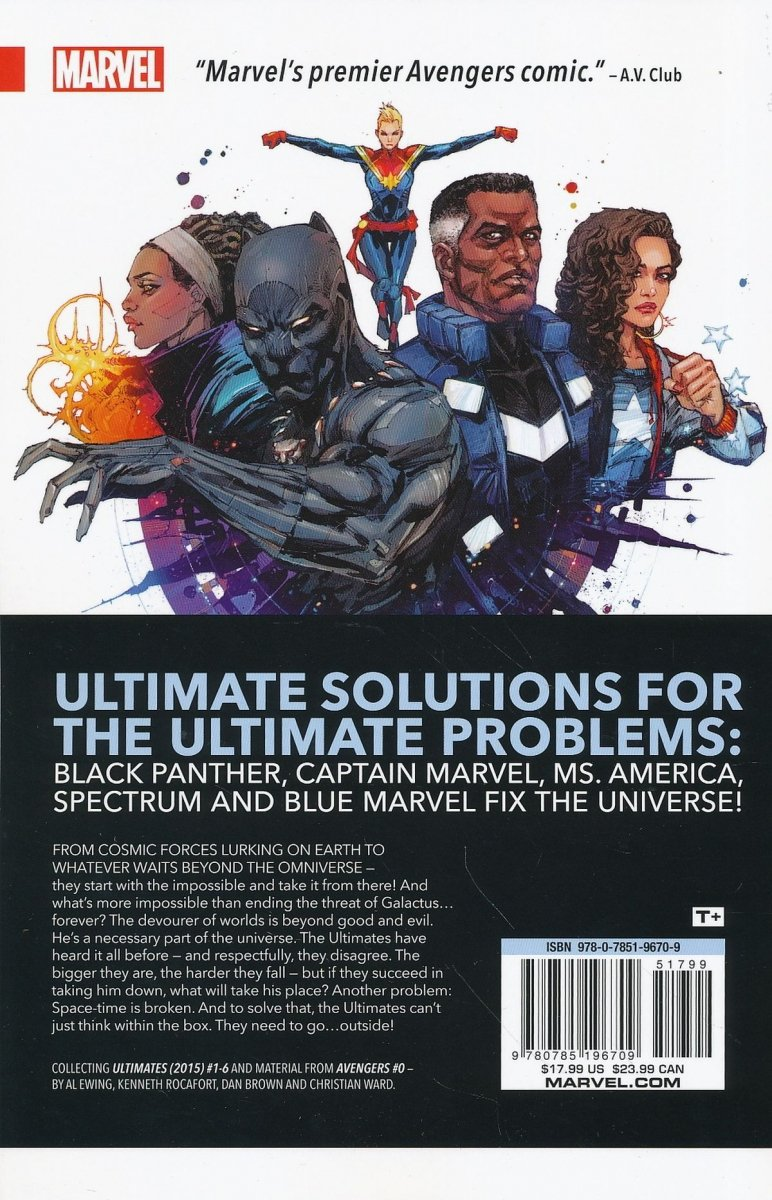 ULTIMATES OMNIVERSAL TP VOL 01 START WITH IMPOSSIBLE (Oferta ekspozycyjna)
