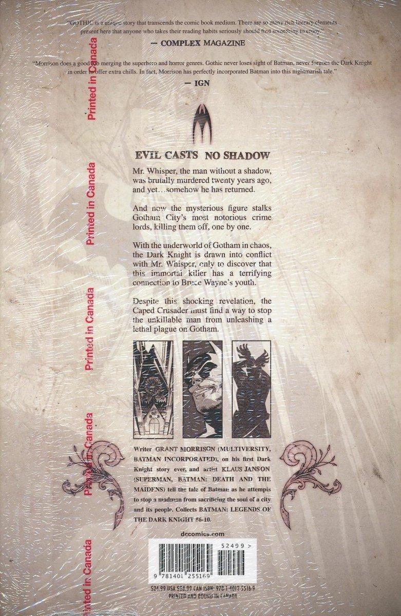 BATMAN GOTHIC DELUXE EDITION HC (Oferta ekspozycyjna)