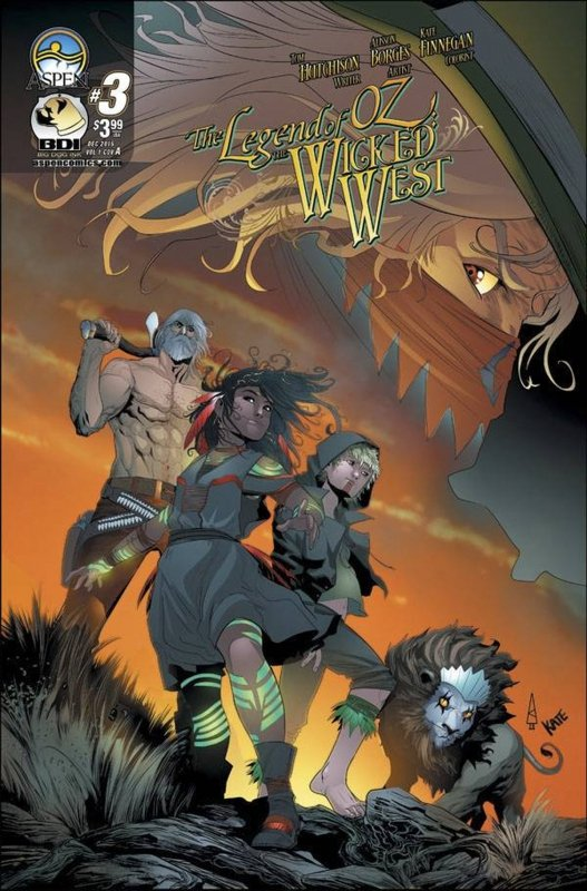 LEGEND OF OZ WICKED WEST #3 CVR A BORGES