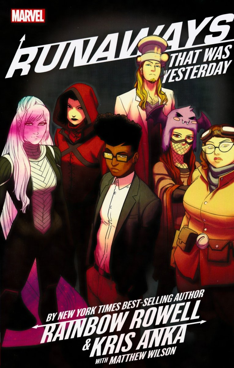 RUNAWAYS BY ROWELL AND ANKA TP VOL 03 THAT WAS YESTERDAY (Oferta ekspozycyjna)