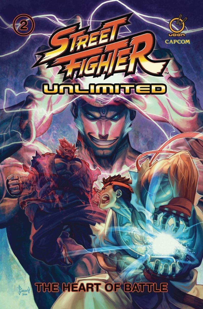 STREET FIGHTER UNLIMITED TP VOL 02