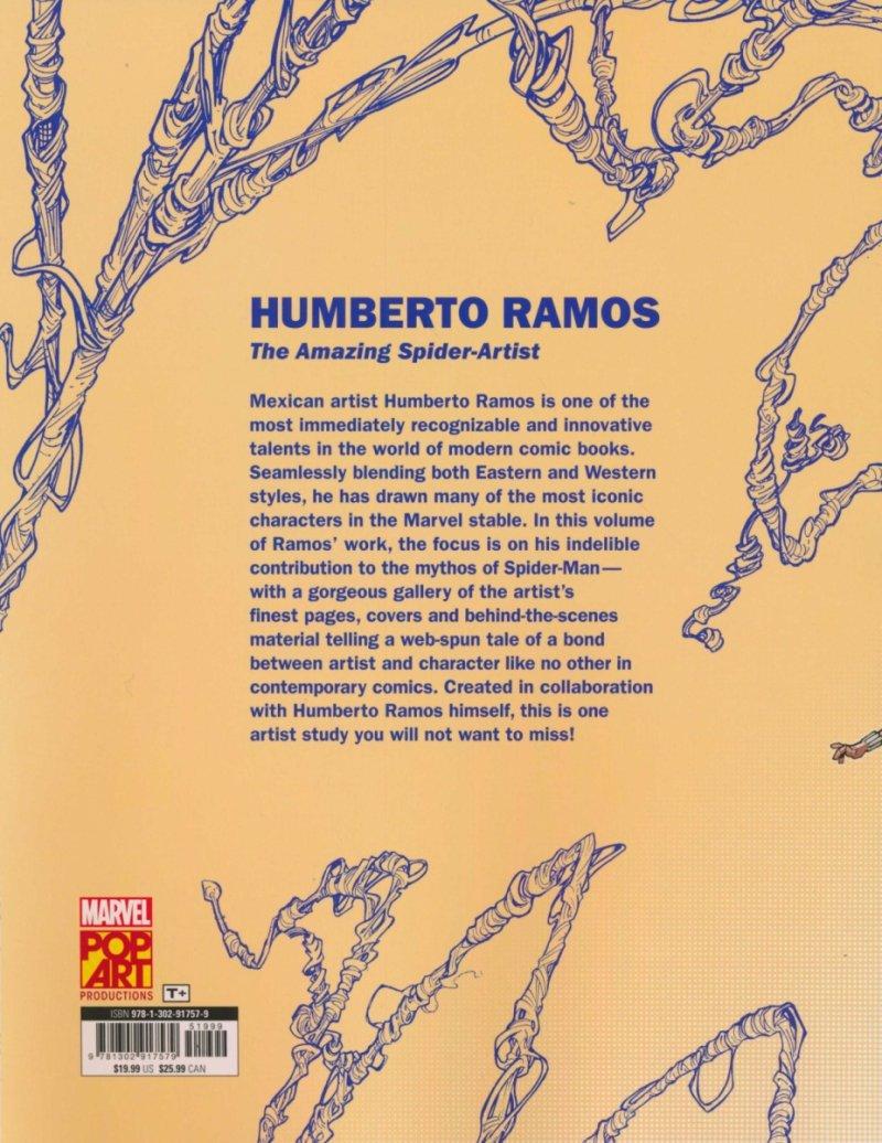 MARVEL MONOGRAPH ART OF HUMBERTO RAMOS TP SPIDER-MAN (Oferta ekspozycyjna)