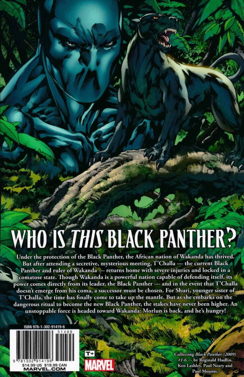 BLACK PANTHER SHURI DEADLIEST OF SPECIES TP NEW PTG (Oferta ekspozycyjna)