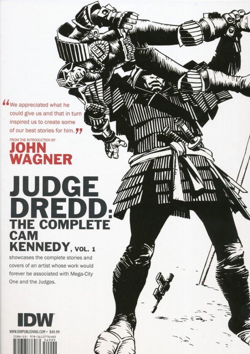 JUDGE DREDD CAM KENNEDY COLLECTION HC VOL 01 (Oferta ekspozycyjna)