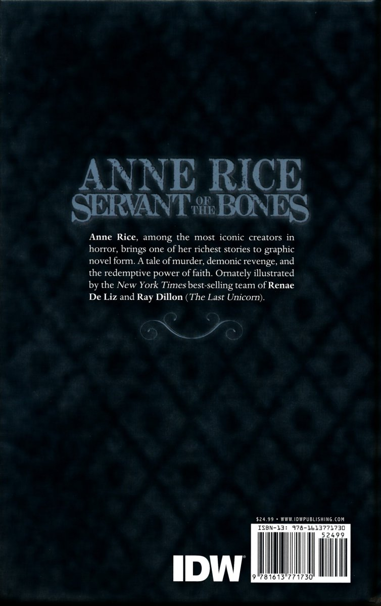 ANNE RICE SERVANT OF THE BONES HC (Oferta ekspozycyjna)