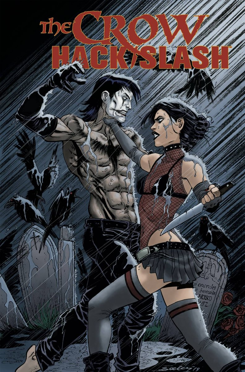 CROW HACK SLASH TP VOL 01