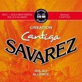 Struny do klasyka SAVAREZ Creation Cantiga 510 MR