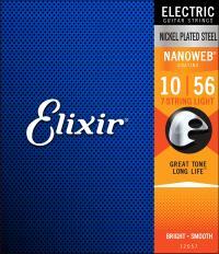 Struny ELIXIR NanoWeb (10-56) 7str.