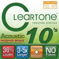 Struny CLEARTONE Acoustic Phosphor-Bronze (10-47)
