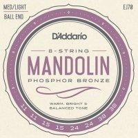 Struny do mandoliny D'ADDARIO EJ70 (11-38)