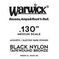 Struna WARWICK Black Nylon Tapewound MS .0130w