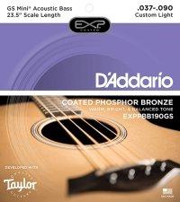 Struny D'ADDARIO EXPPBB190GS (37-90)