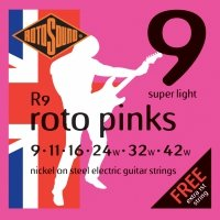 Struny ROTOSOUND Roto Pinks R9 (9-42)