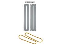 Blaszki ochronne do czyszczenia progów (wąskie)