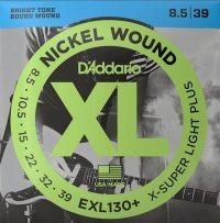 Struny D'ADDARIO XL Nickel Wound EXL130 (08,5-39)