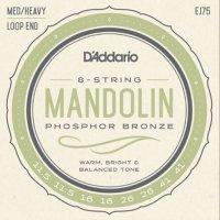 Struny do mandoliny D'ADDARIO EJ75 (11,5-41)