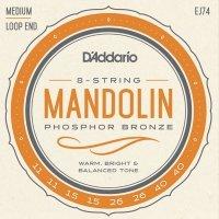 Struny do mandoliny D'ADDARIO EJ74 (11-40)
