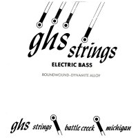 Struna do basu GHS Bass Boomers 070w Long Scale