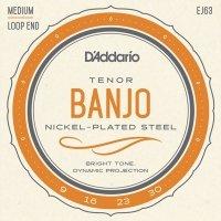 Struny do banjo 5str D'ADDARIO EJ63 Tenor (09-30)