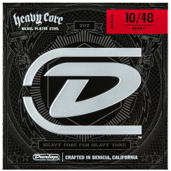 DUNLOP Heavy Core Guitar Strings (10-48)
