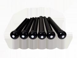 Plastikowe kołki mostka HOSCO (czarny z kropką)