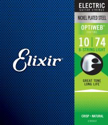Struny ELIXIR OptiWeb (10-74) 8str.