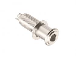 Cylindryczne gniazdo jack stereo  HOSCO EP-108 (N)