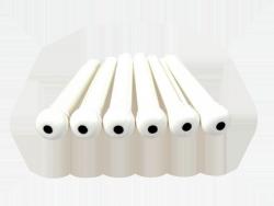 Plastikowe kołki mostka HOSCO (biały z kropką)