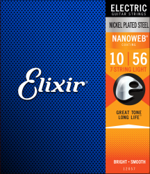 Struny ELIXIR NanoWeb Nickel Plated (10-56) 7str
