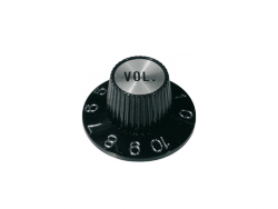 Gałka wciskana, calowa typu Hat (SV, volume)